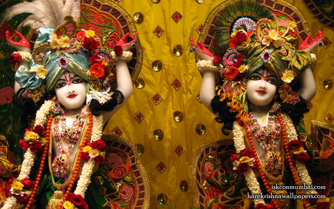 Sri Sri Gaura Nitai Close up Wallpaper (010) Size 1280x800 Download