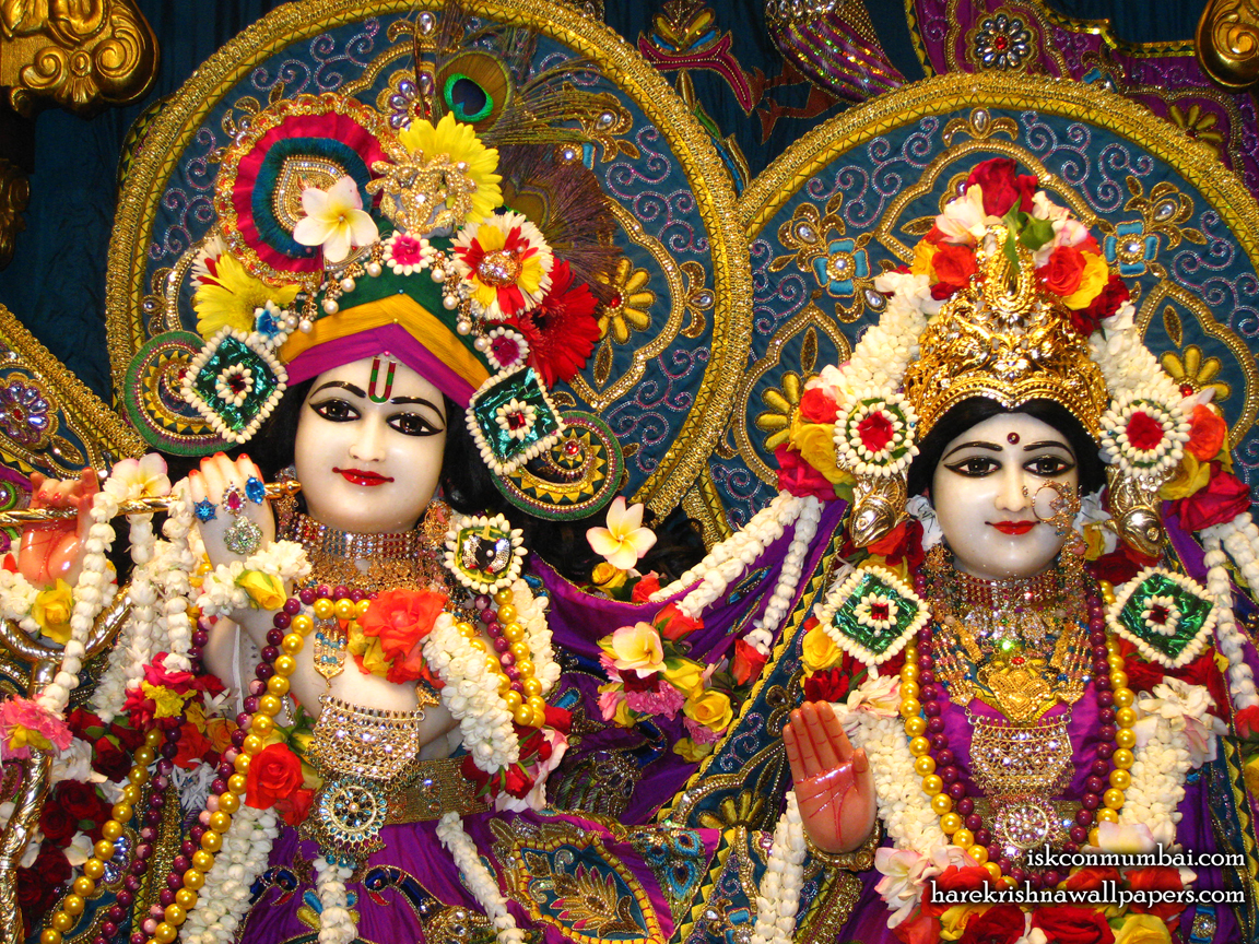 Sri Sri Radha Rasabihari Close up Wallpaper (010) Size 1152x864 Download