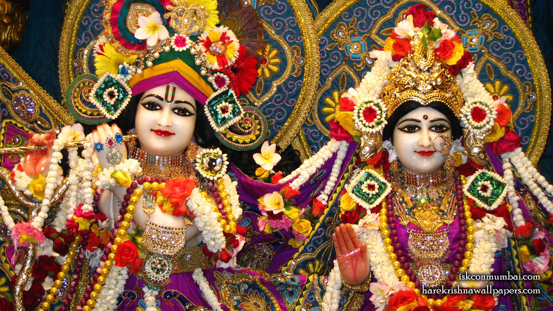 Sri Sri Radha Rasabihari Close up Wallpaper (010) Size 1920x1080 Download