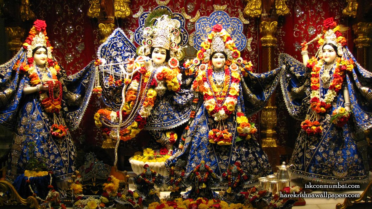 Sri Sri Radha Rasabihari Lalita Vishakha Wallpaper (010) Size1280x720 Download