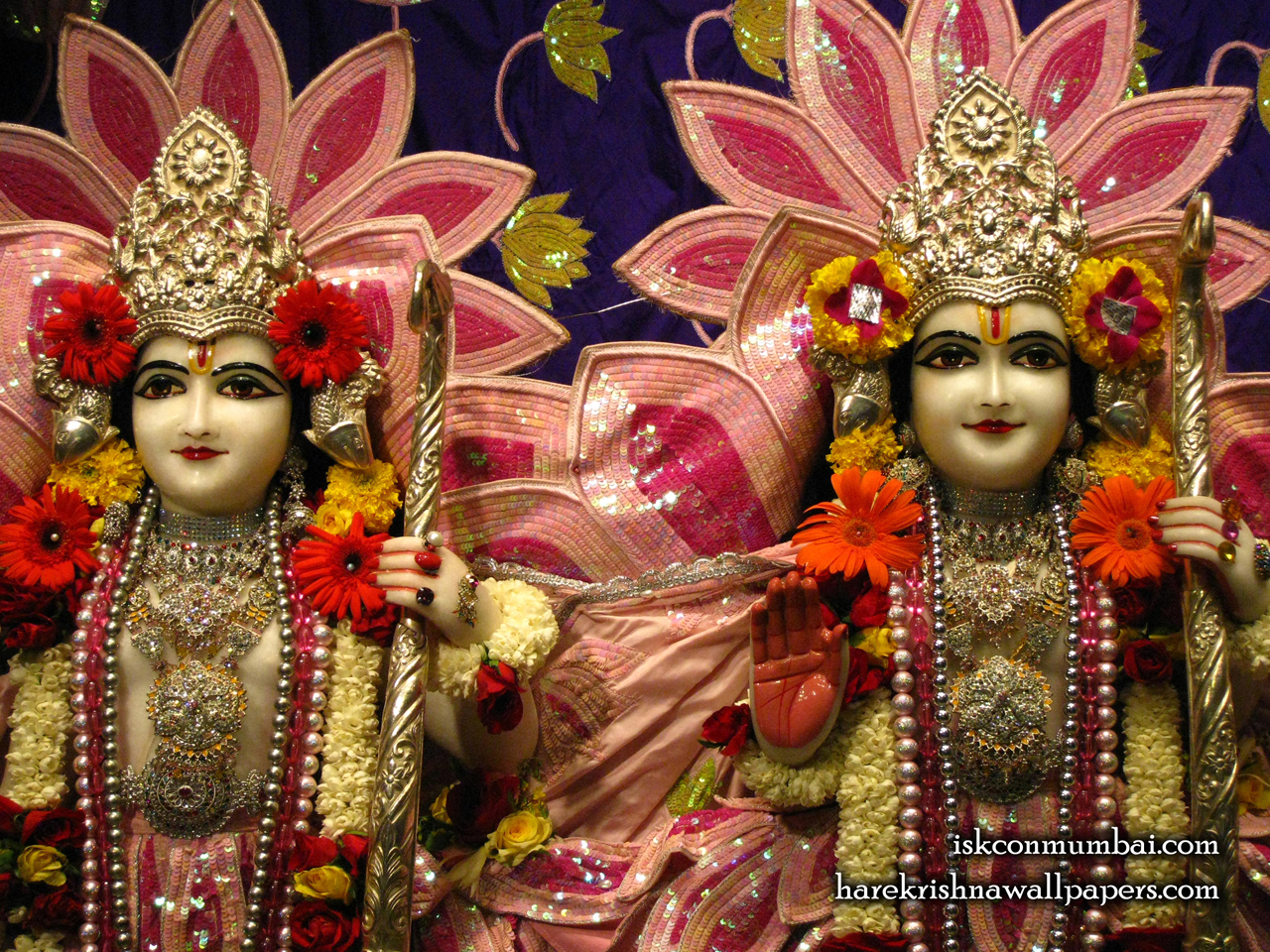 Sri Sri Rama Laxman Close up Wallpaper (010) Size 1280x960 Download