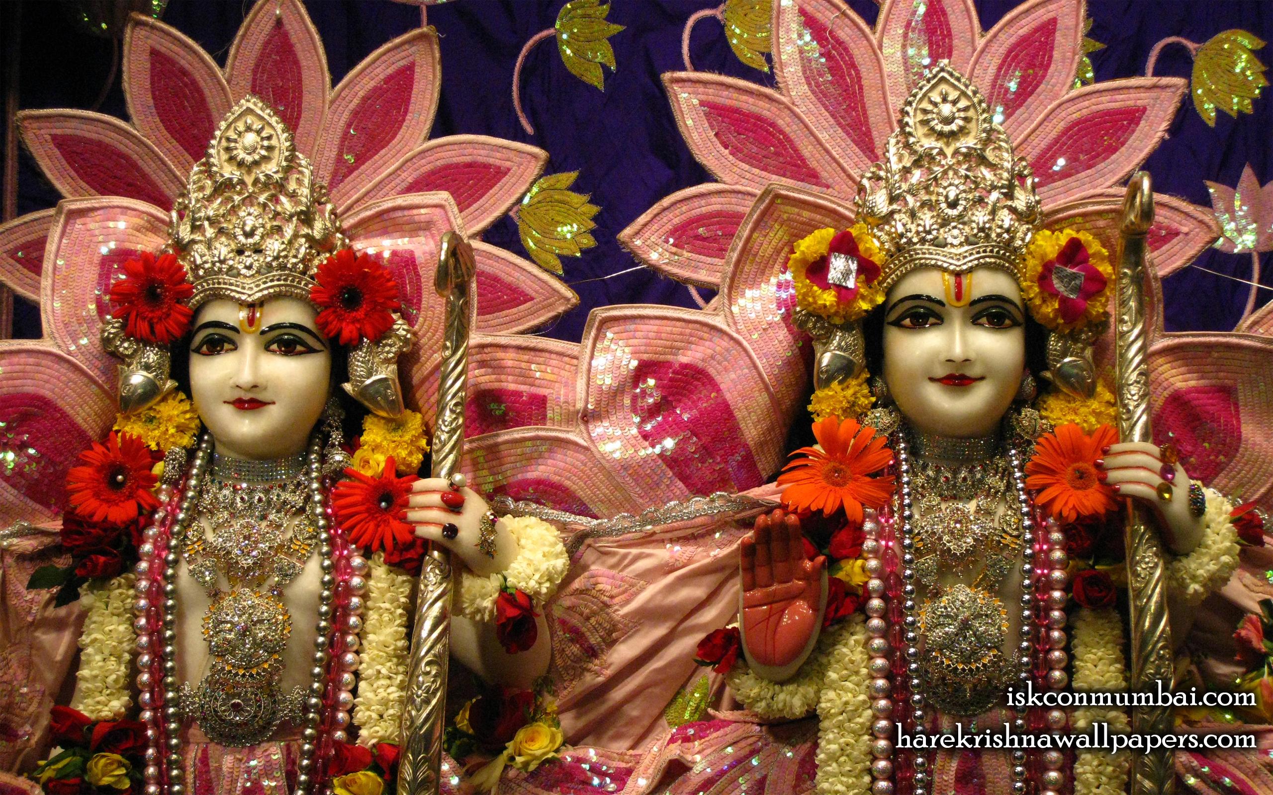 Sri Sri Rama Laxman Close up Wallpaper (010) Size 2560x1600 Download