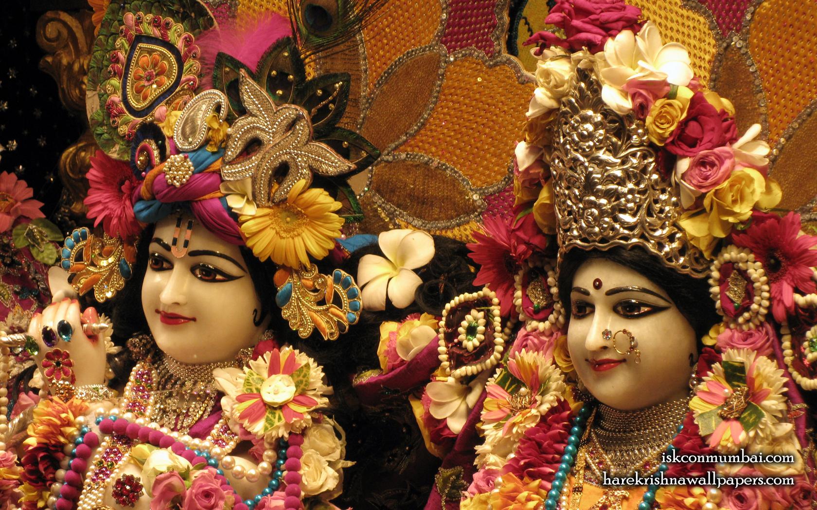 Sri Sri Radha Rasabihari Close up Wallpaper (011) Size 1680x1050 Download