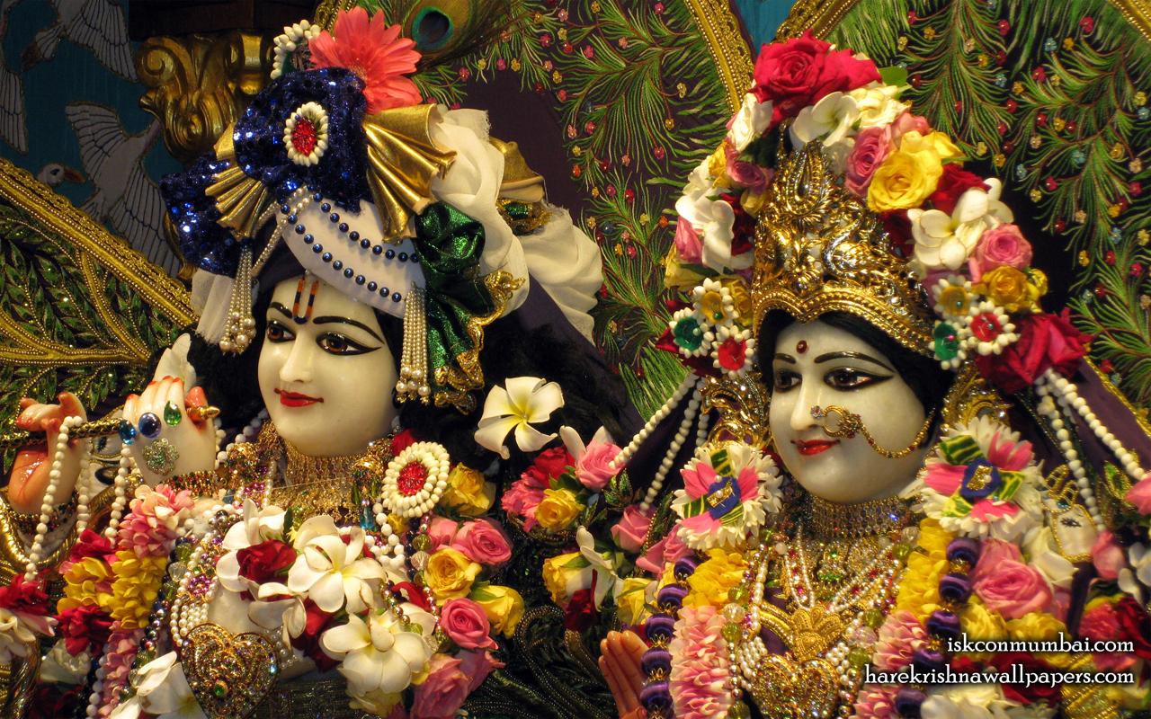 Sri Sri Radha Rasabihari Close up Wallpaper (012) Size 1280x800 Download