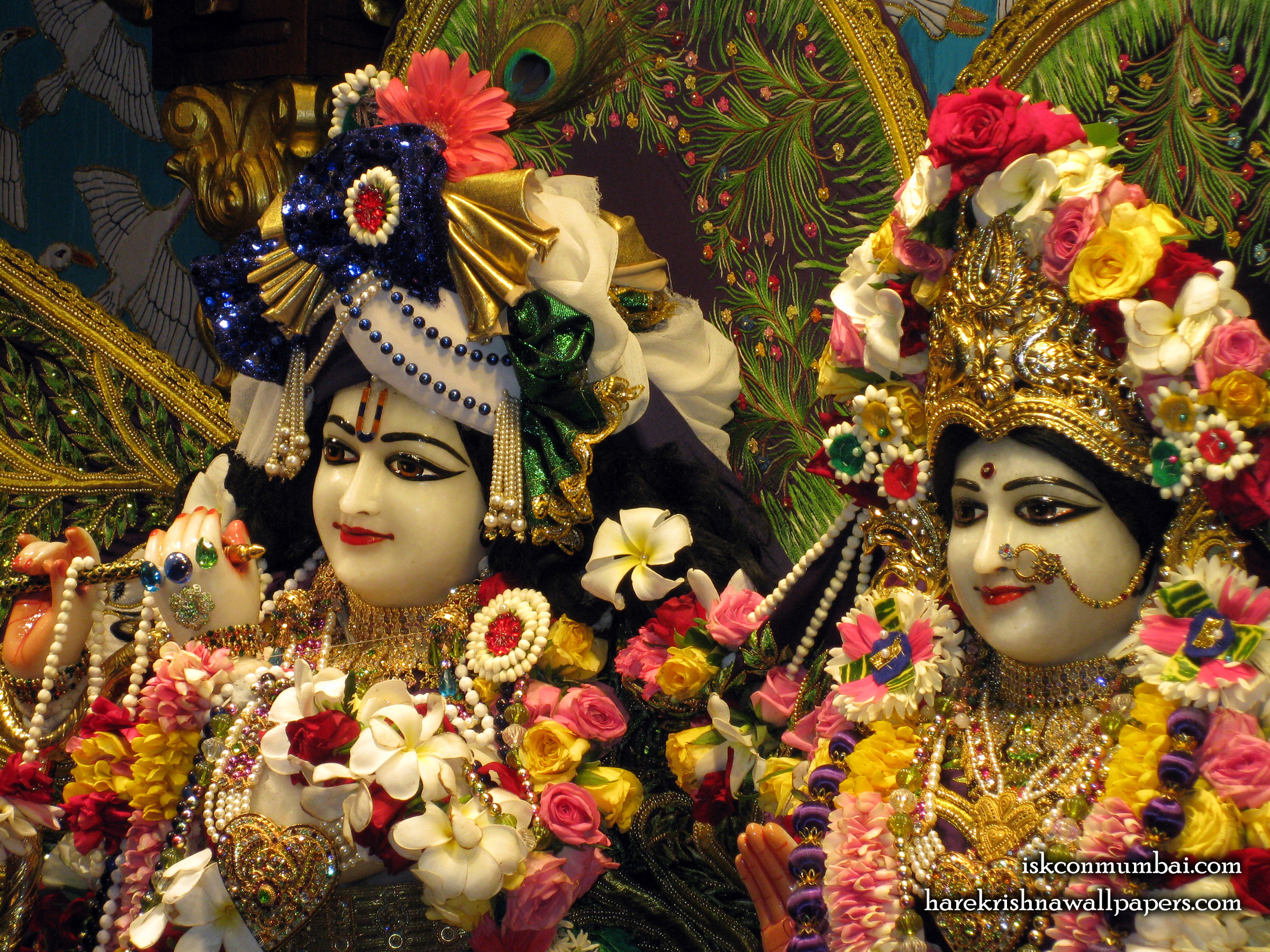Sri Sri Radha Rasabihari Close up Wallpaper (012) Size 2400x1800 Download