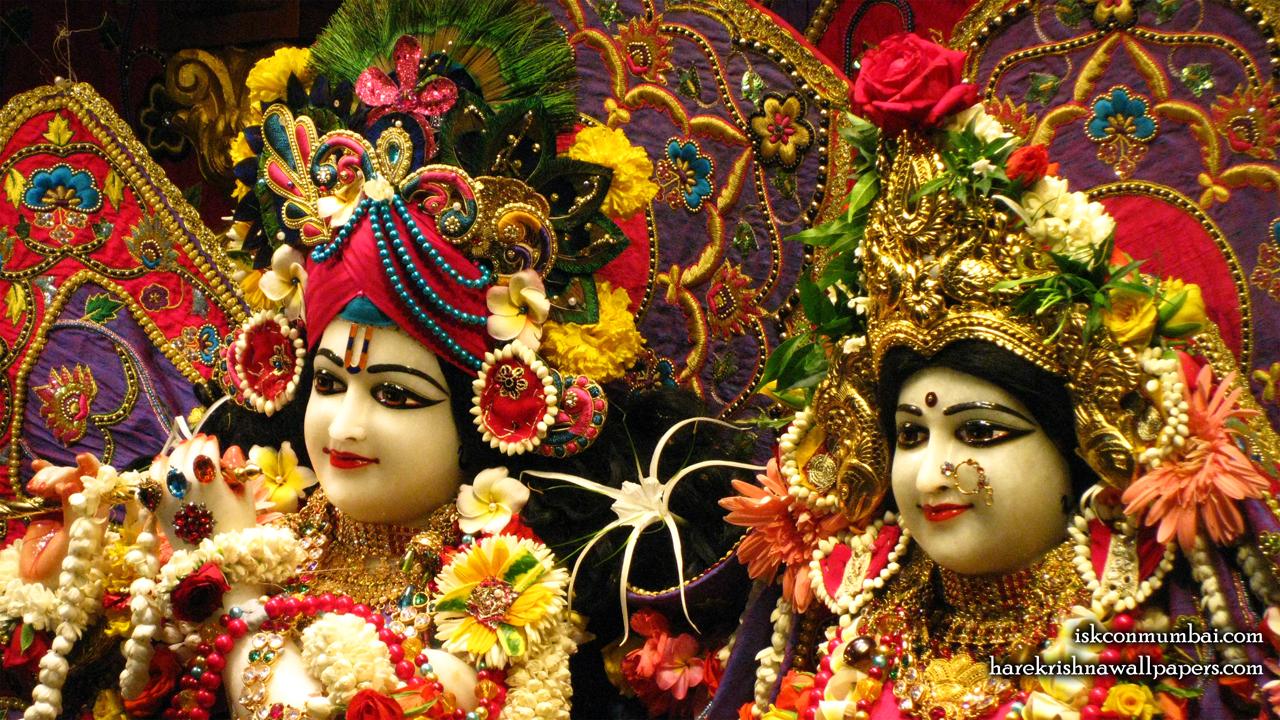 Sri Sri Radha Rasabihari Close up Wallpaper (013) Size1280x720 Download