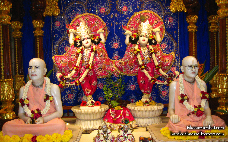 Sri Sri Gaura Nitai With Acharyas Wallpaper (014) Size 1440x900 Download