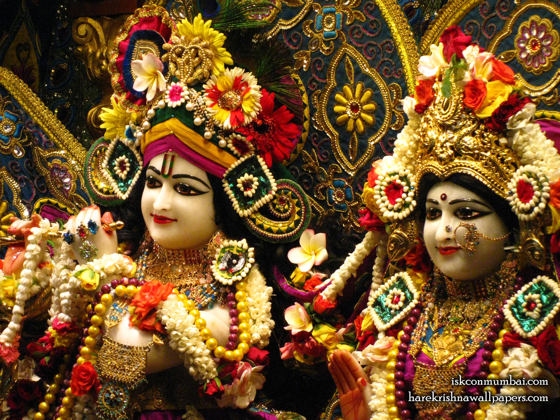 Sri Sri Radha Rasabihari Close up Wallpaper (016) Size 1152x864 Download