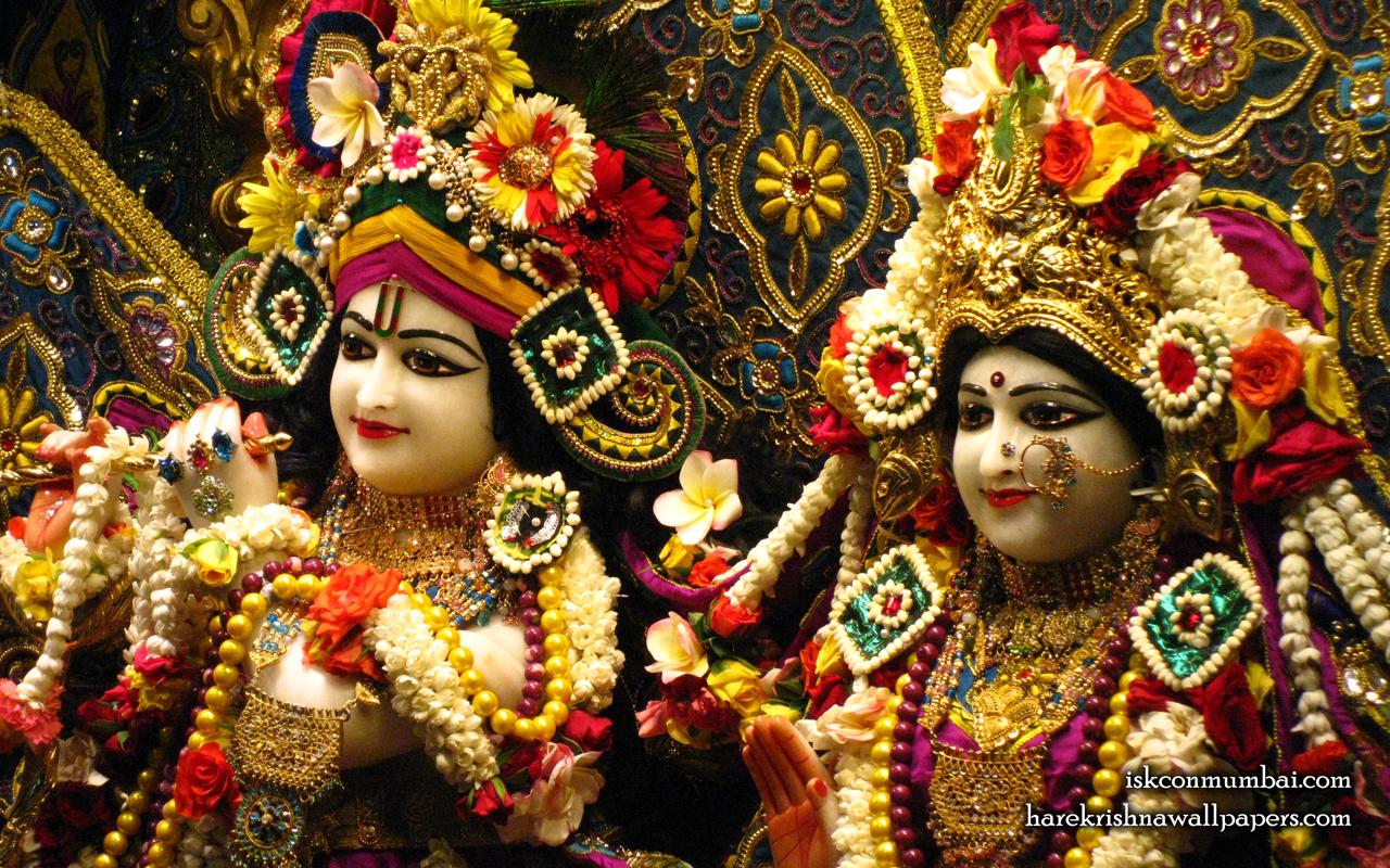 Sri Sri Radha Rasabihari Close up Wallpaper (016) Size 1280x800 Download