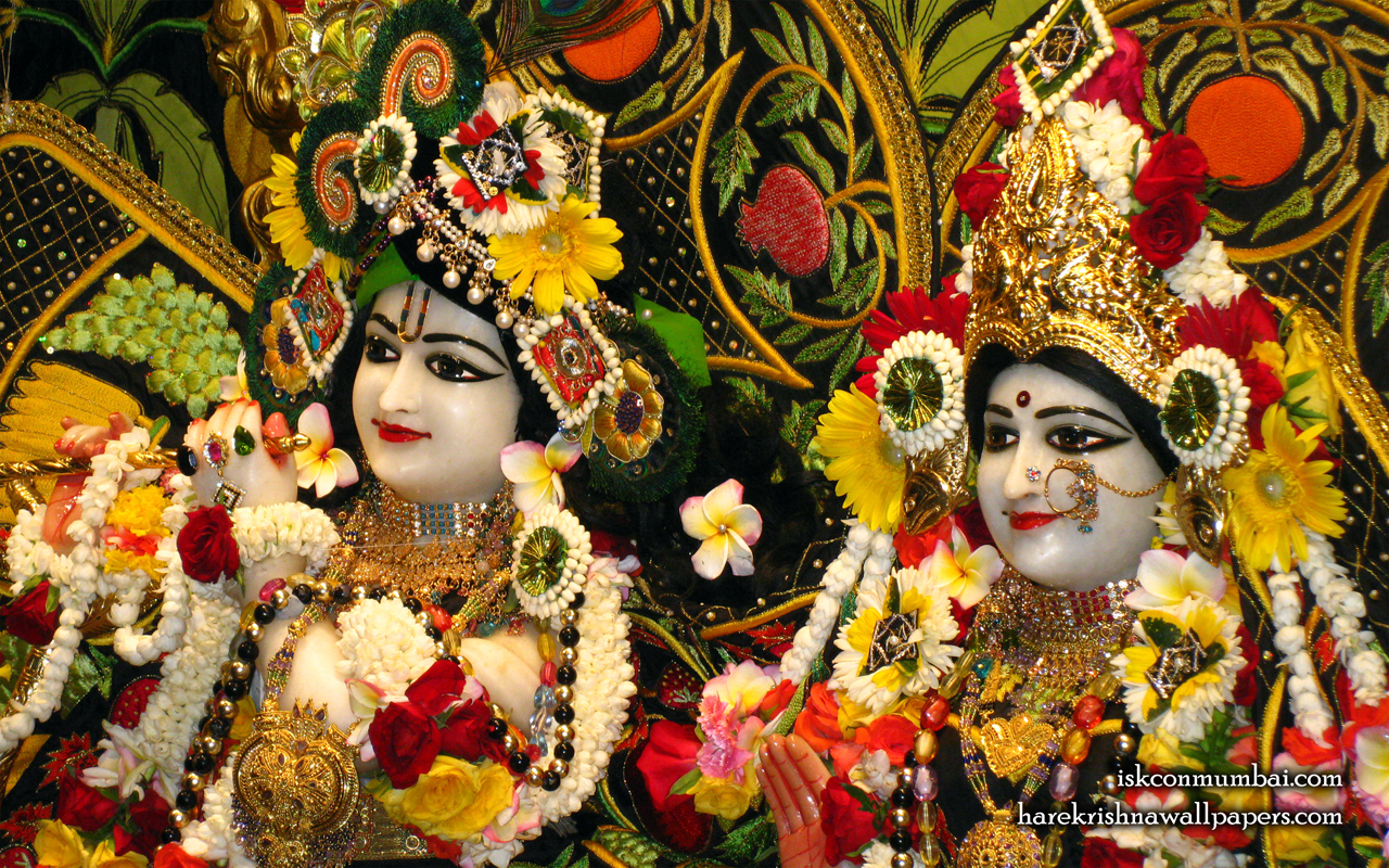 Sri Sri Radha Rasabihari Close up Wallpaper (018) Size 1280x800 Download