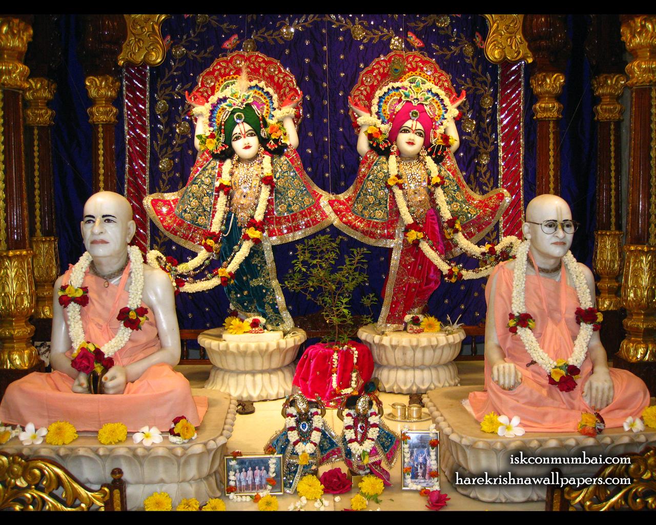 Sri Sri Gaura Nitai With Acharyas Wallpaper (019) Size 1280x1024 Download