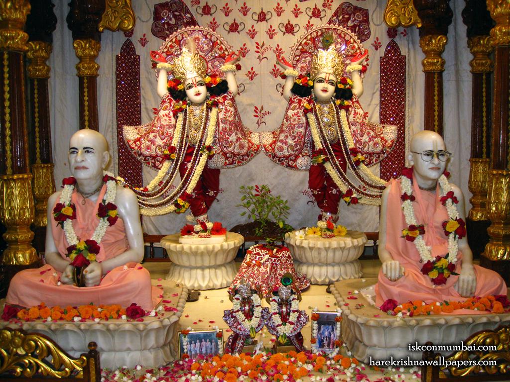 Sri Sri Gaura Nitai With Acharyas Wallpaper (020) Size 1024x768 Download