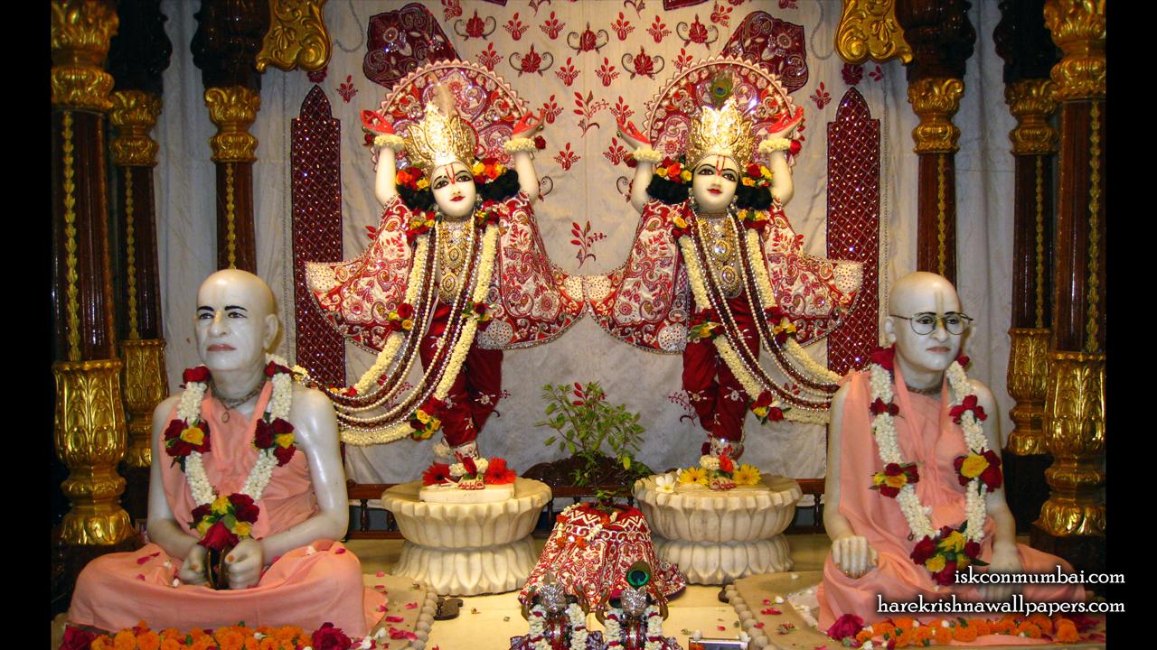 Sri Sri Gaura Nitai With Acharyas Wallpaper (020) Size1280x720 Download