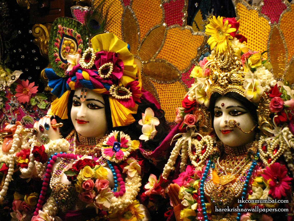 Sri Sri Radha Rasabihari Close up Wallpaper (020) Size 1152x864 Download