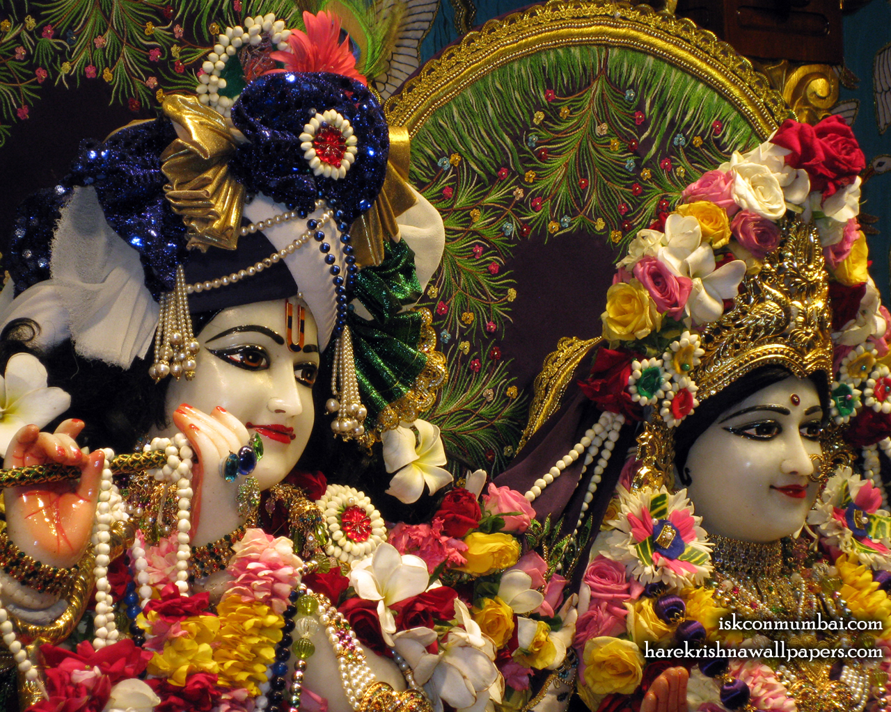 Sri Sri Radha Rasabihari Close up Wallpaper (022) Size 1280x1024 Download