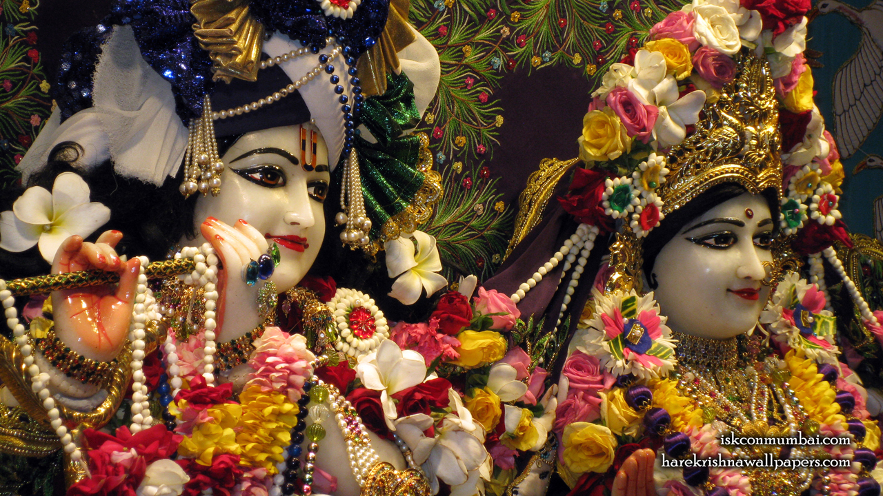 Sri Sri Radha Rasabihari Close up Wallpaper (022) Size1280x720 Download