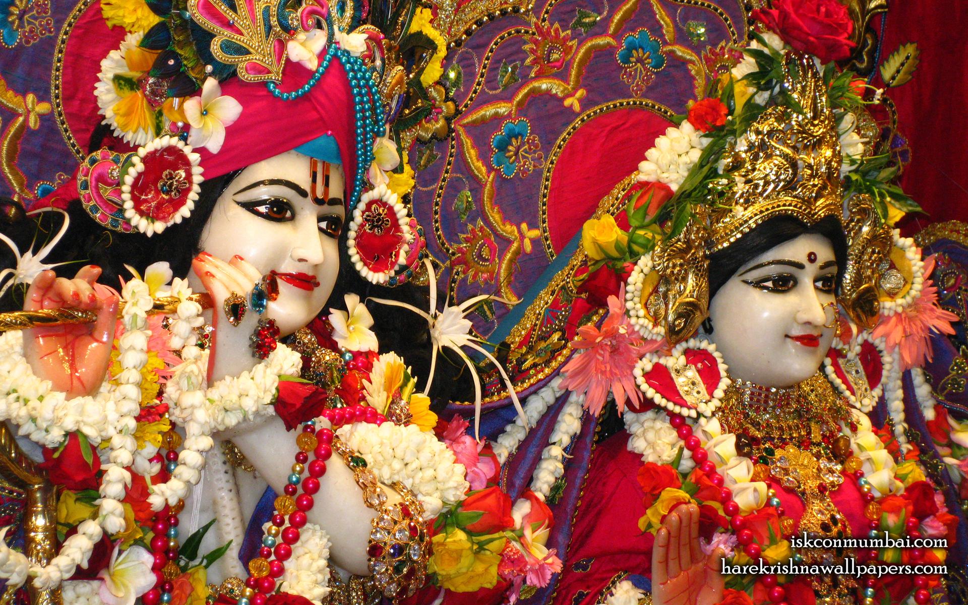 Sri Sri Radha Rasabihari Close up Wallpaper (023) Size 1920x1200 Download