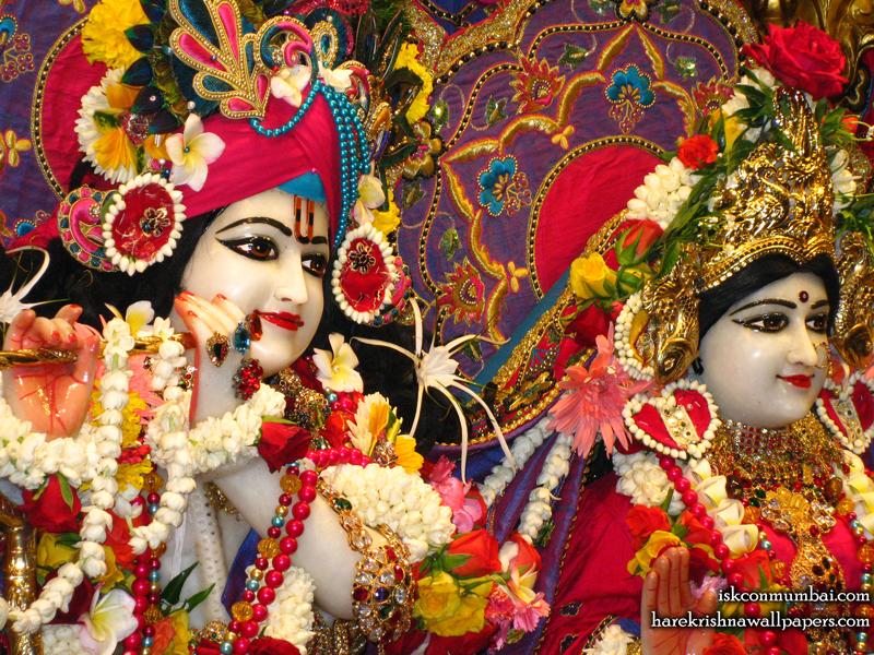 Sri Sri Radha Rasabihari Close up Wallpaper (023) Size 800x600 Download