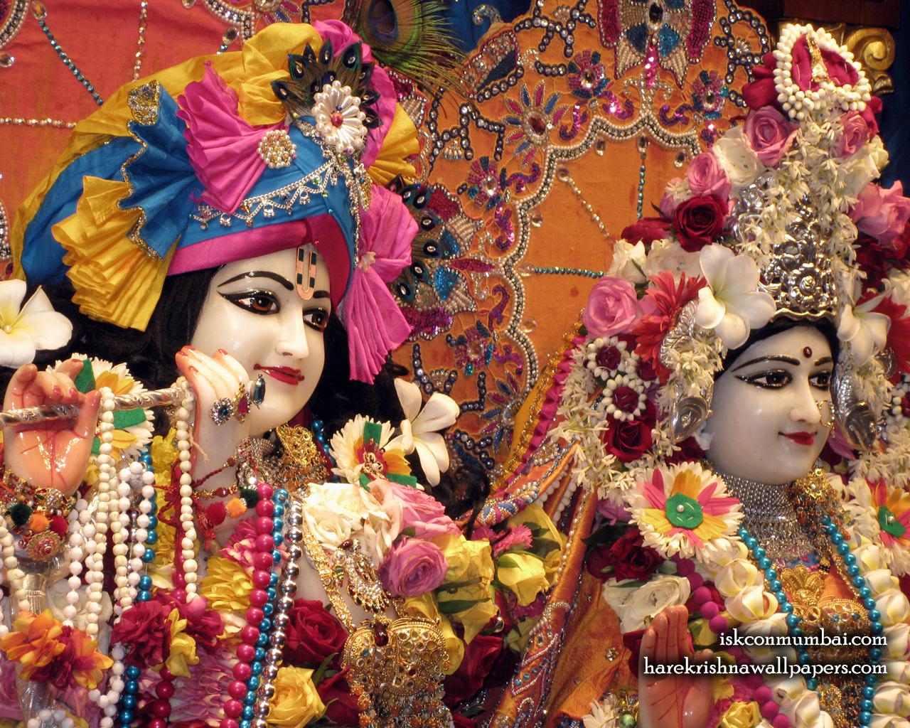 Sri Sri Radha Rasabihari Close up Wallpaper (024) Size 1280x1024 Download