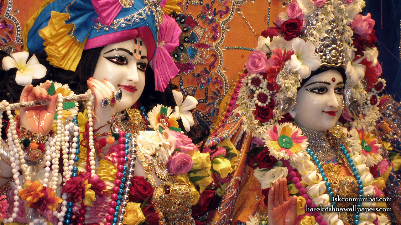 Sri Sri Radha Rasabihari Close up Wallpaper (024) Size1280x720 Download