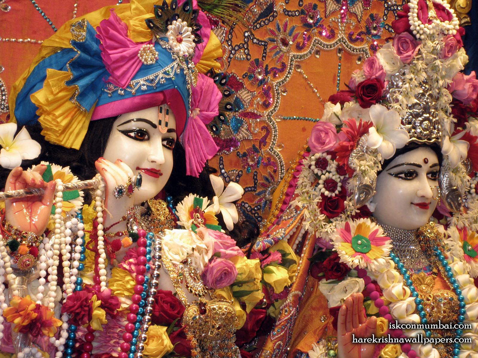 Sri Sri Radha Rasabihari Close up Wallpaper (024) Size1600x1200 Download