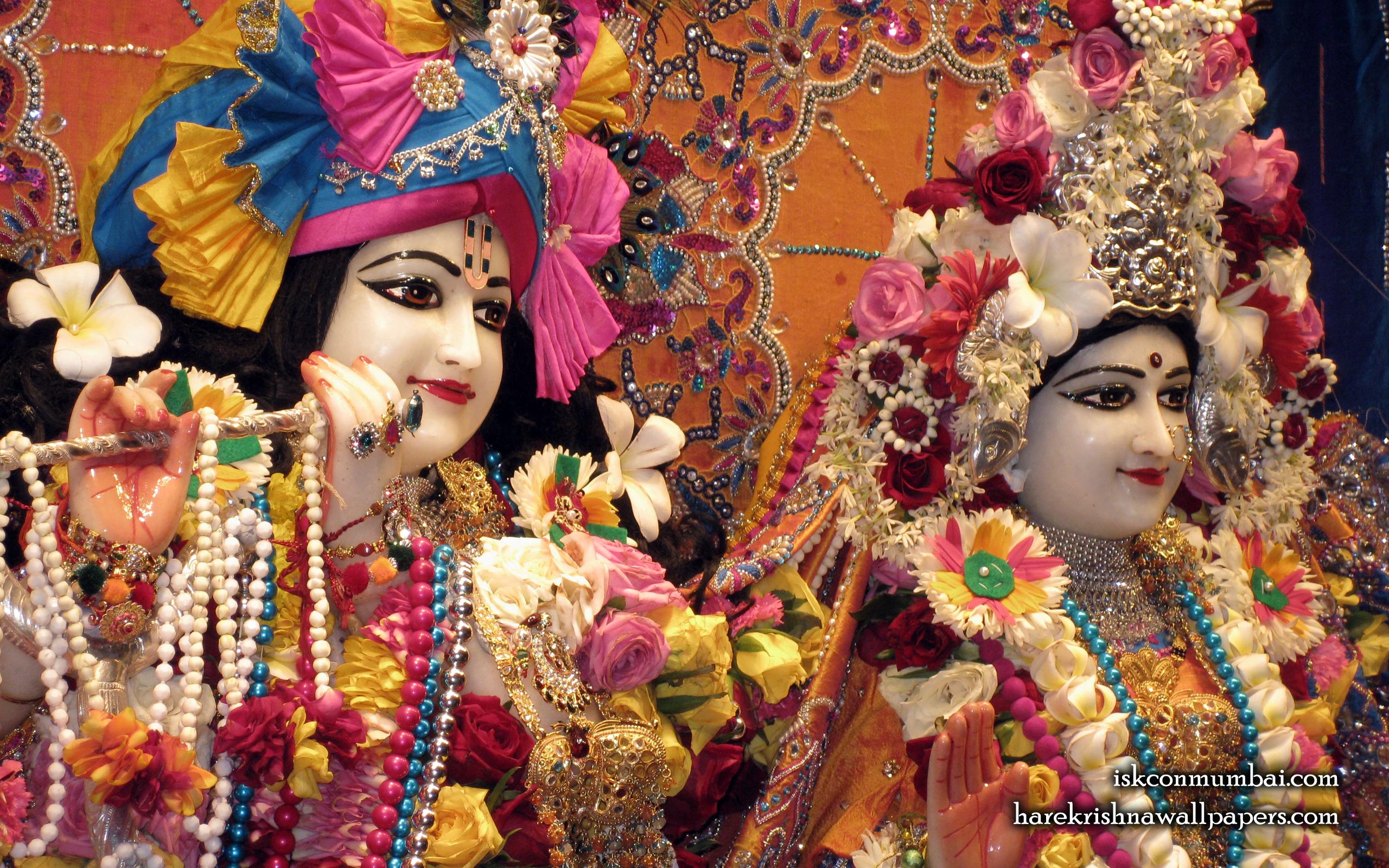 Sri Sri Radha Rasabihari Close up Wallpaper (024) Size 2560x1600 Download