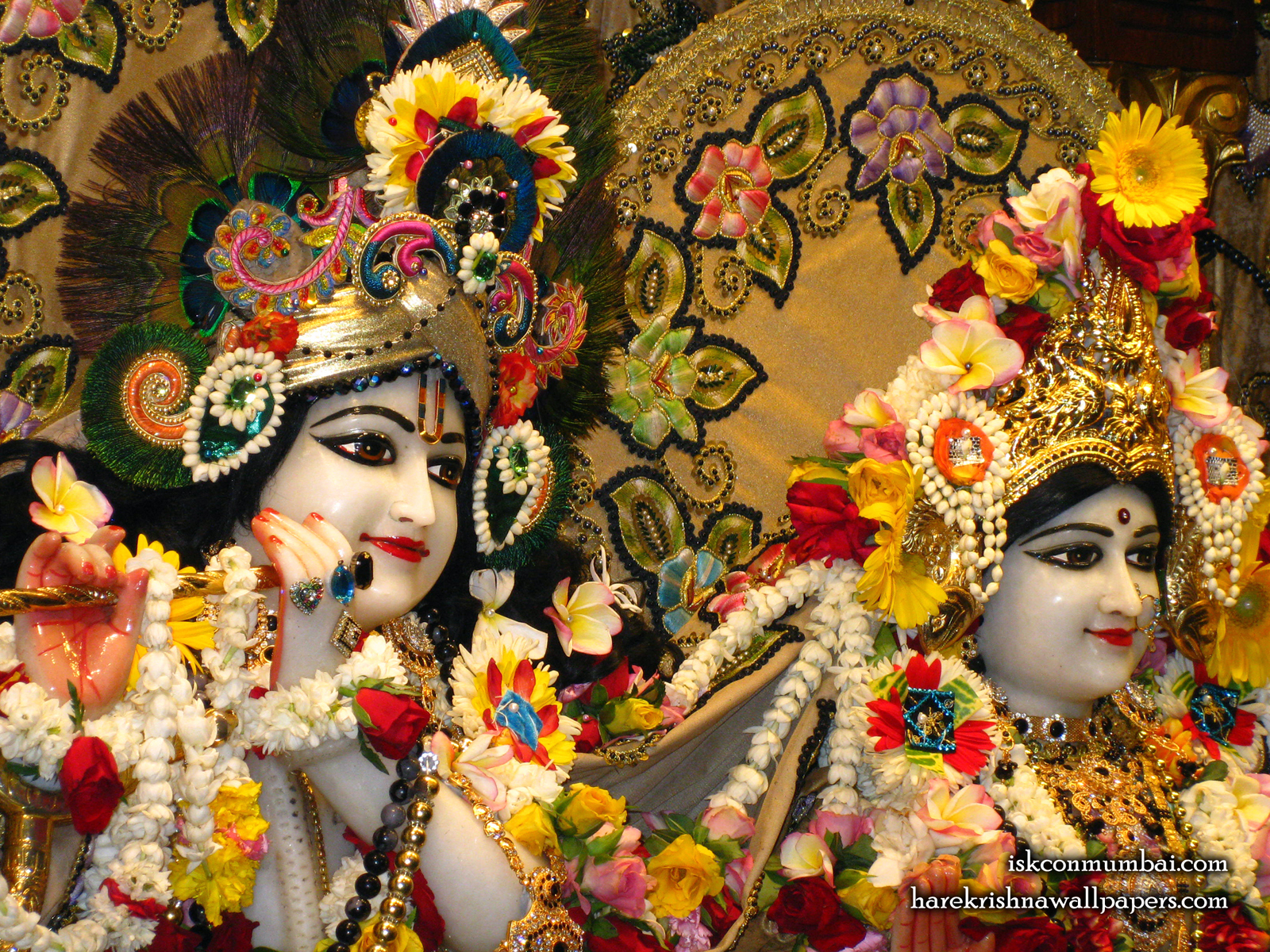 Sri Sri Radha Rasabihari Close up Wallpaper (025) Size1600x1200 Download