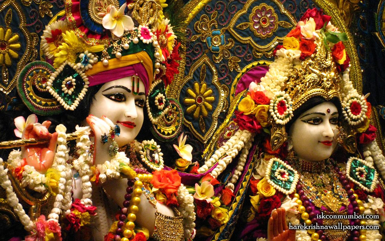 Sri Sri Radha Rasabihari Close up Wallpaper (027) Size 1280x800 Download