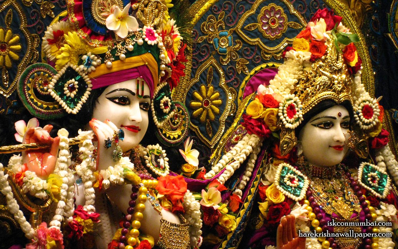 Sri Sri Radha Rasabihari Close up Wallpaper (027) Size 1440x900 Download
