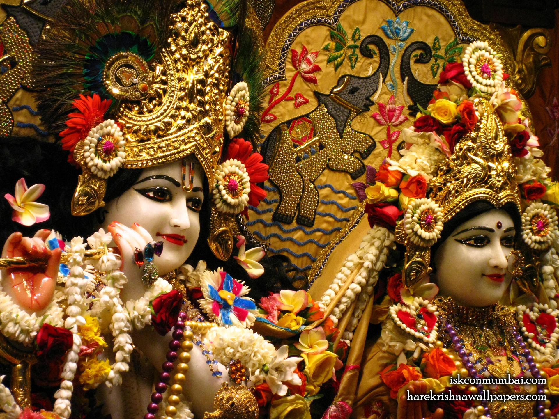Sri Sri Radha Rasabihari Close up Wallpaper (028) Size 1920x1440 Download