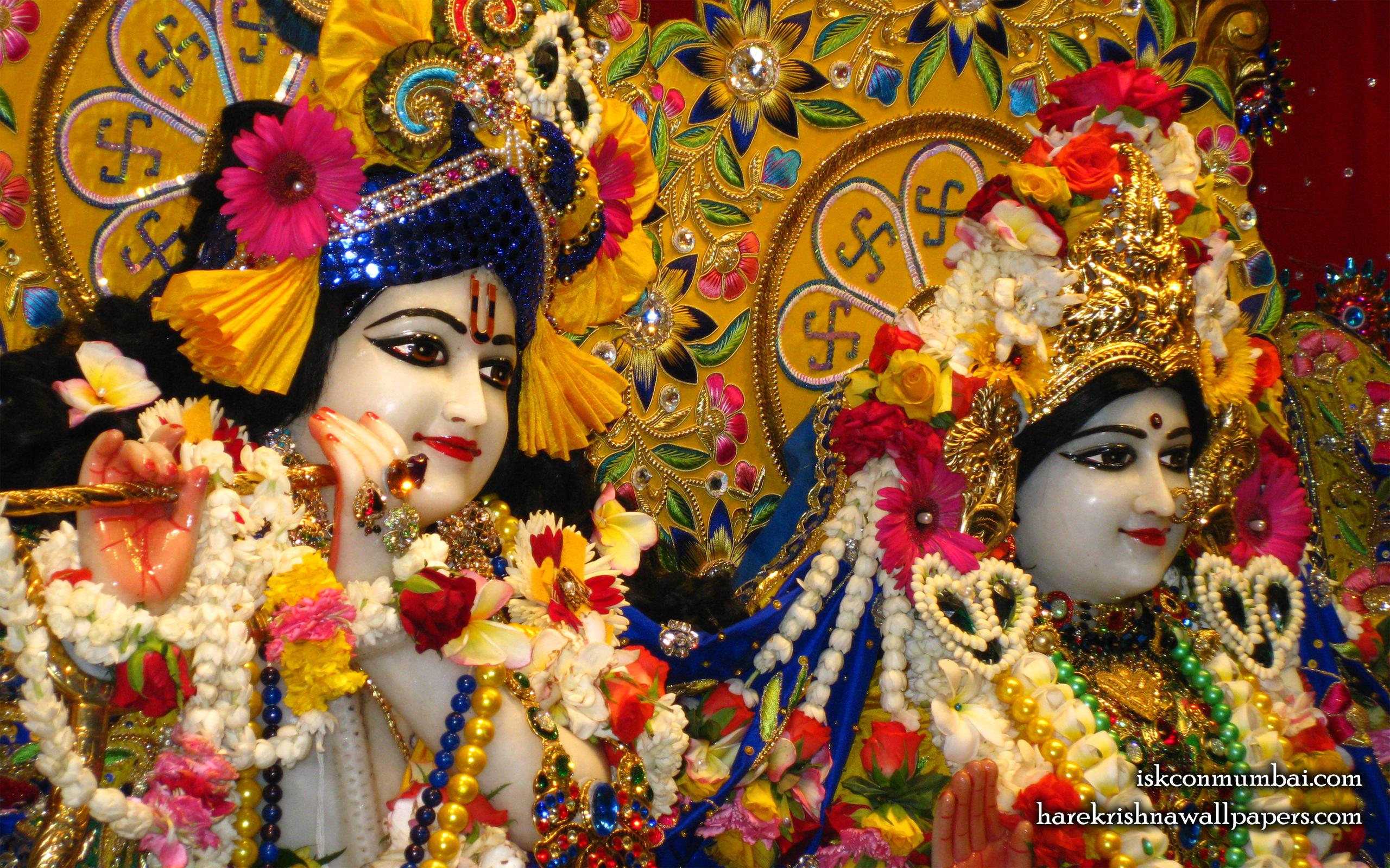 Sri Sri Radha Rasabihari Close up Wallpaper (029) Size 2560x1600 Download