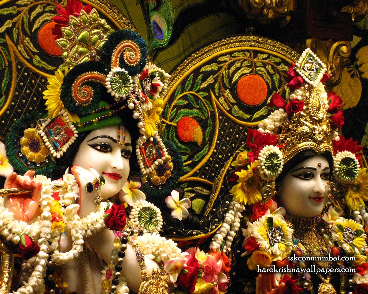 Sri Sri Radha Rasabihari Close up Wallpaper (030) Size 1280x1024 Download