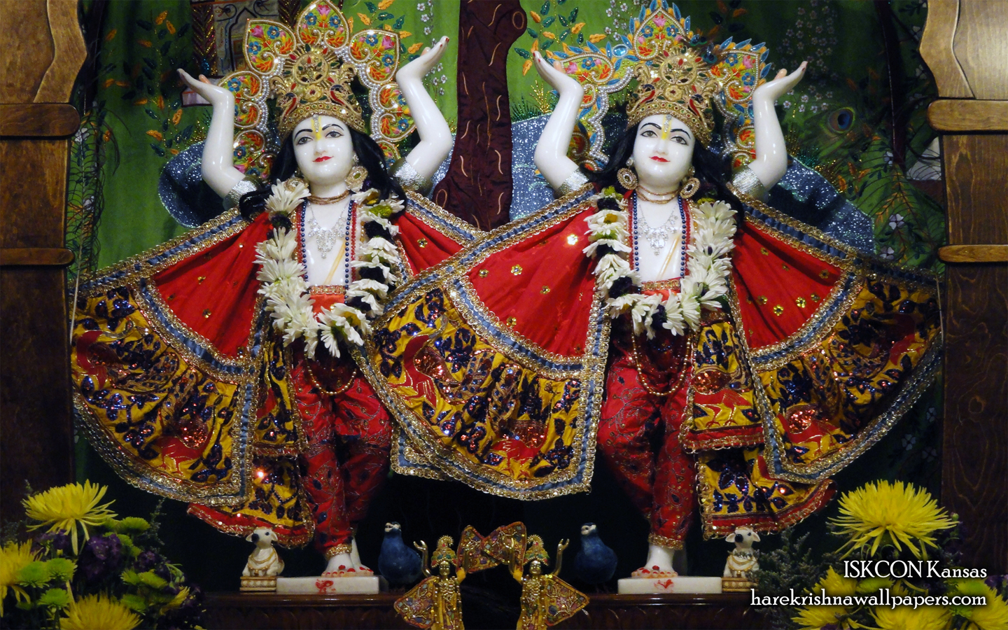 Sri Sri Gaura Nitai Wallpaper (001) Size 1440x900 Download
