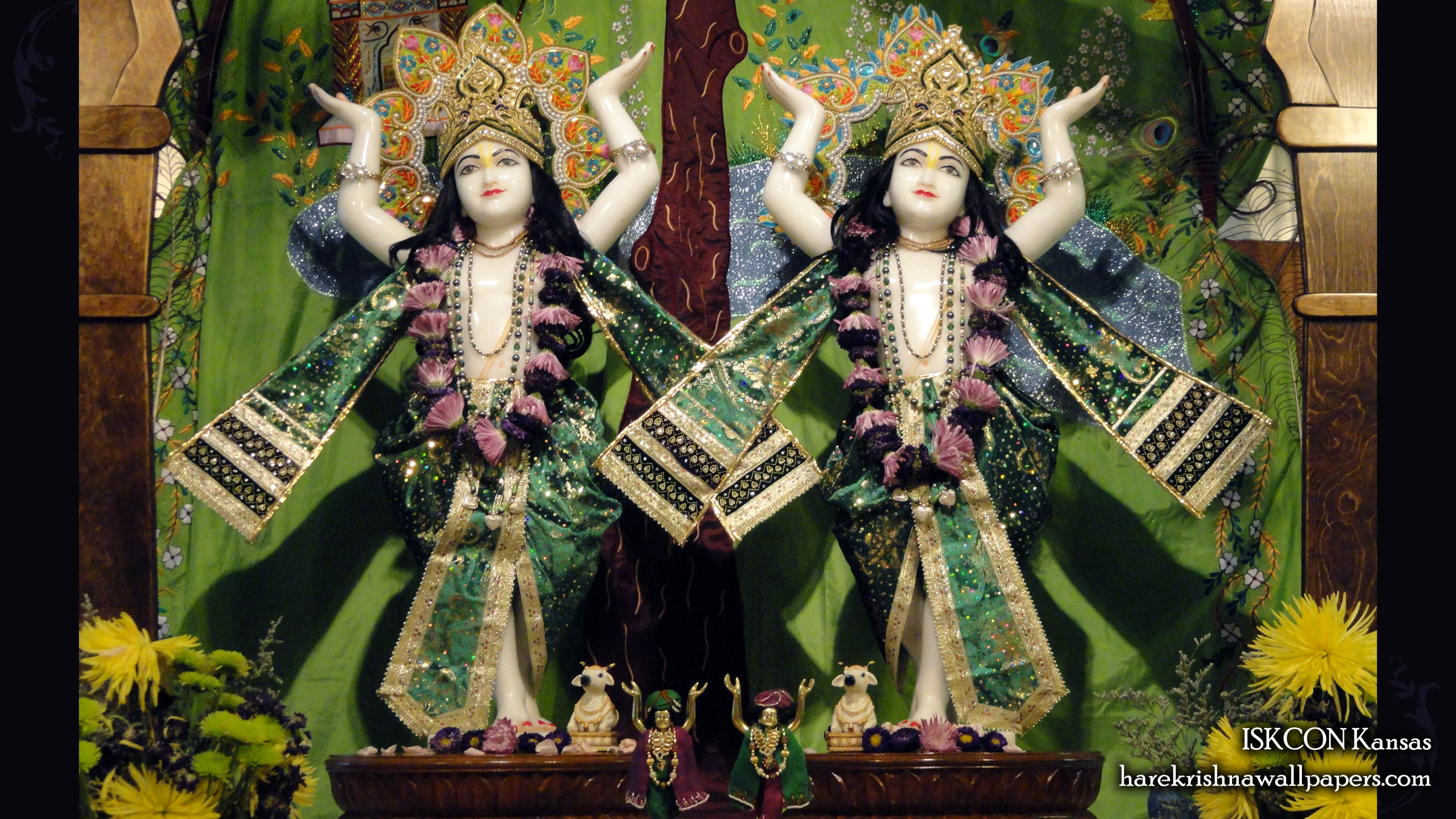 Sri Sri Gaura Nitai Wallpaper (002) Size 2400x1350 Download