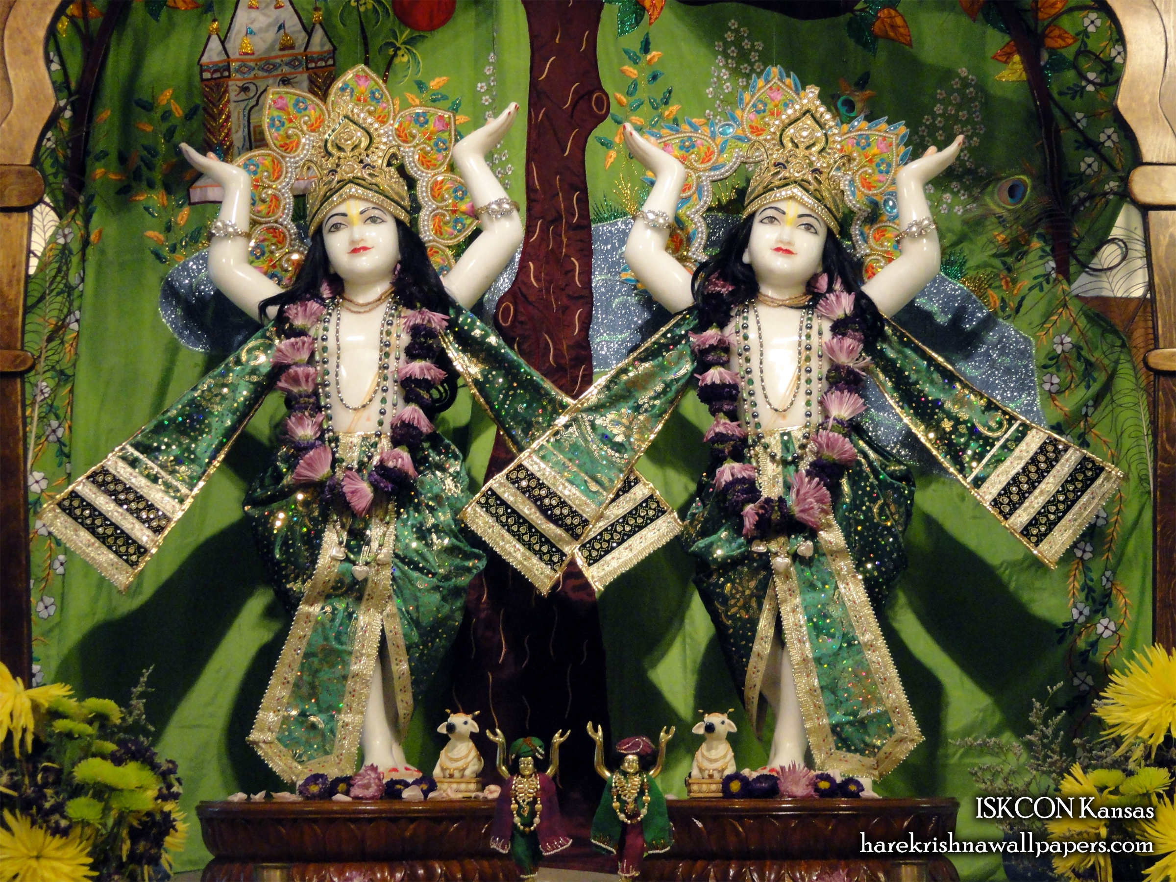 Sri Sri Gaura Nitai Wallpaper (002) Size 2400x1800 Download