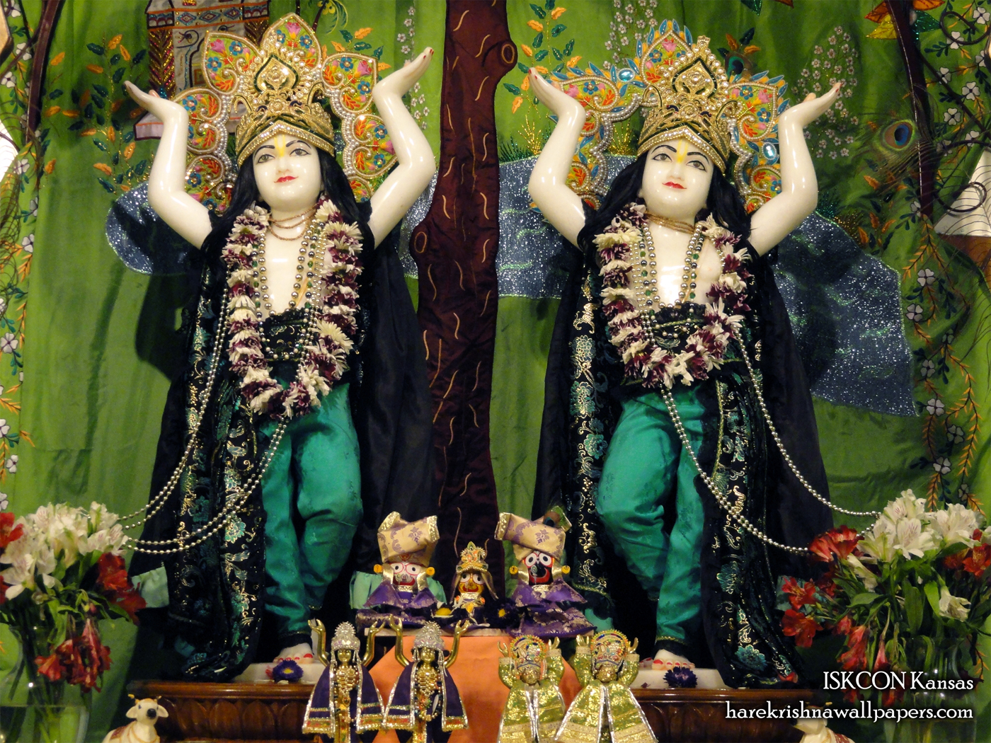 Sri Sri Gaura Nitai Wallpaper (005) Size 1400x1050 Download