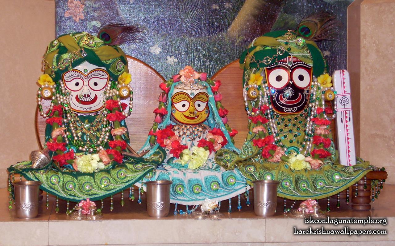 Jagannath Baladeva Subhadra Wallpaper (001) Size 1280x800 Download