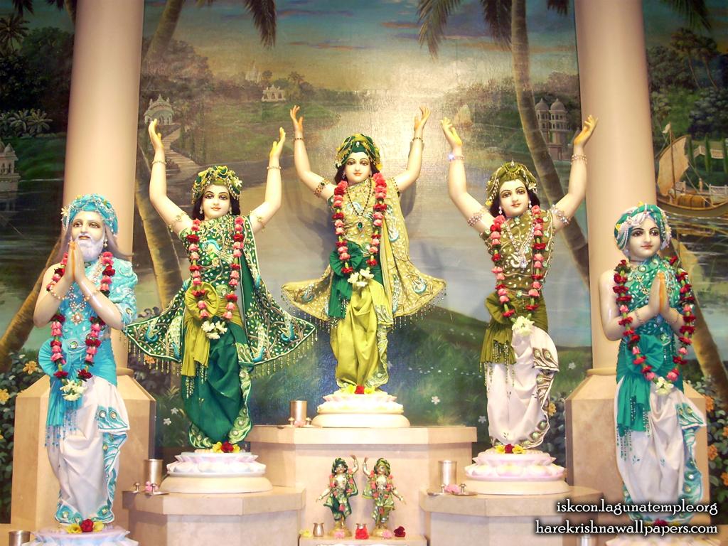 Sri Panchatatva Wallpaper (002) Size 1024x768 Download
