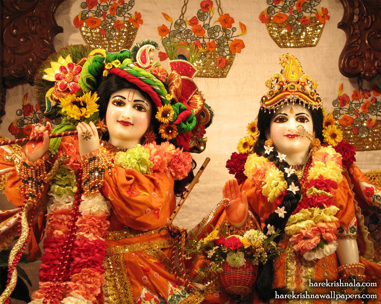 Sri Sri Rukmini Dwarkadhish Close up Wallpaper (002) Size 1280x1024 Download