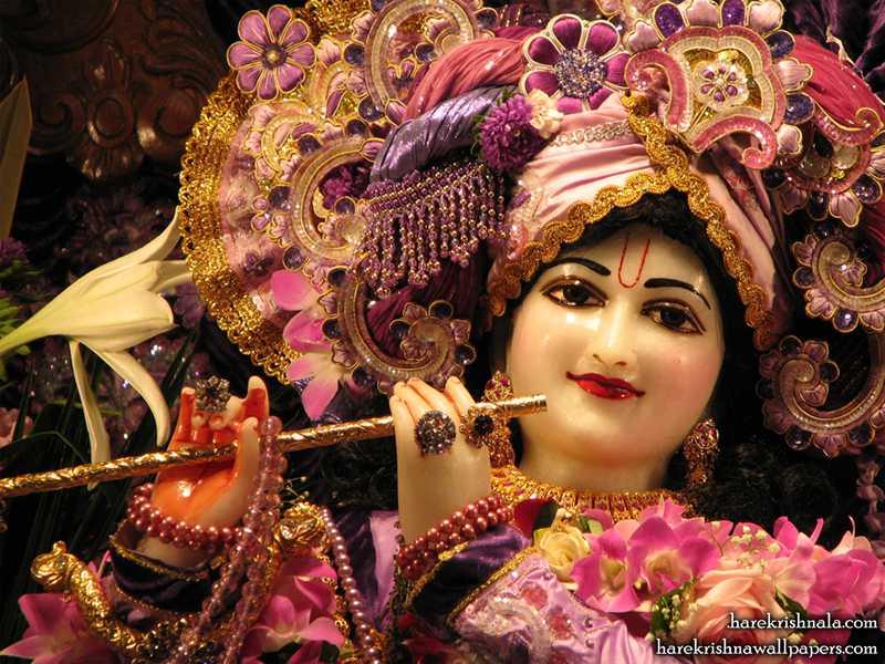 Sri Dwarkadhish Close up Wallpaper (005)