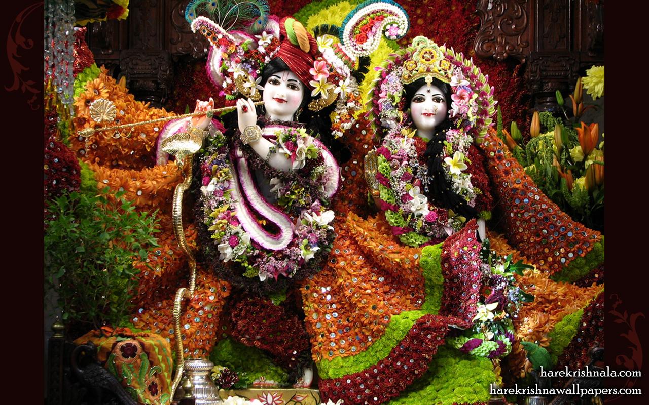 Sri Sri Rukmini Dwarkadhish Wallpaper (006) Size 1280x800 Download