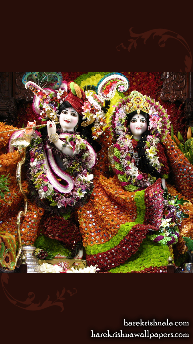 Sri Sri Rukmini Dwarkadhish Wallpaper (006) Size 675x1200 Download