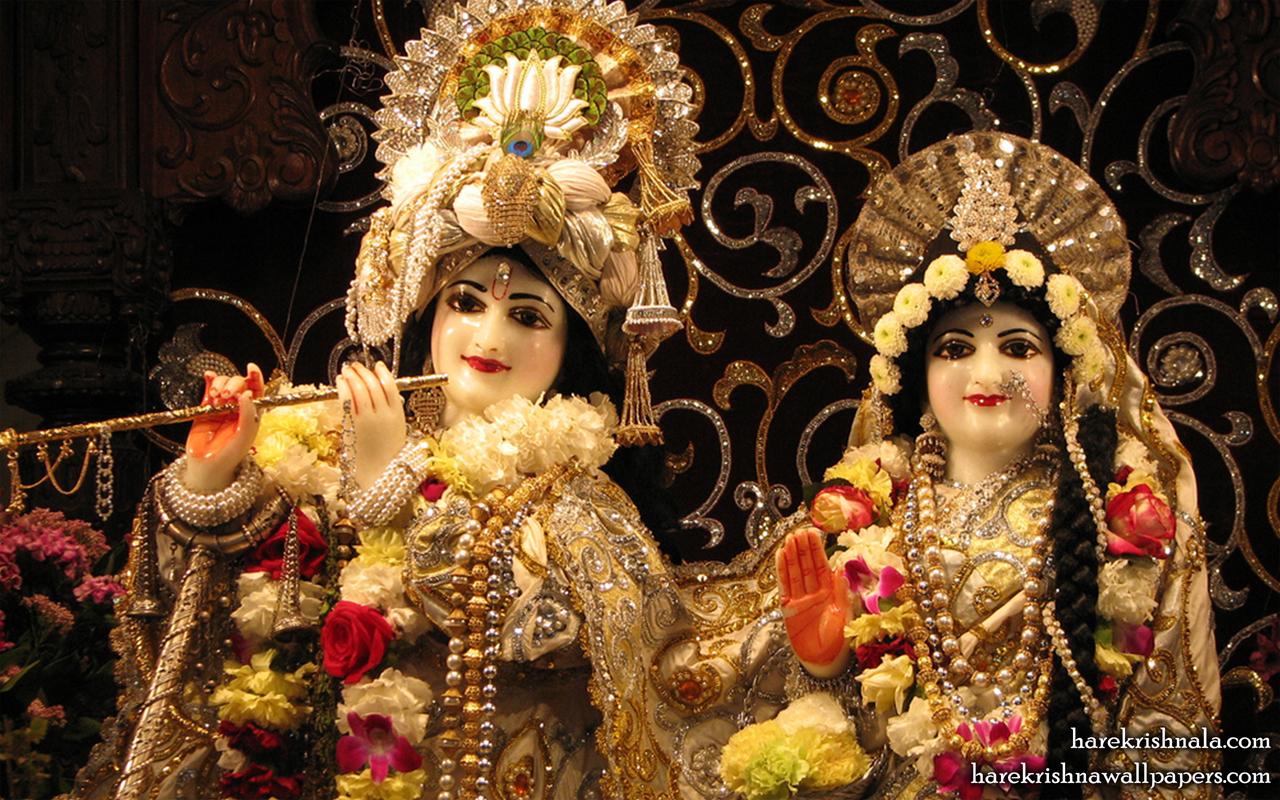 Sri Sri Rukmini Dwarkadhish Close up Wallpaper (006) Size 1280x800 Download