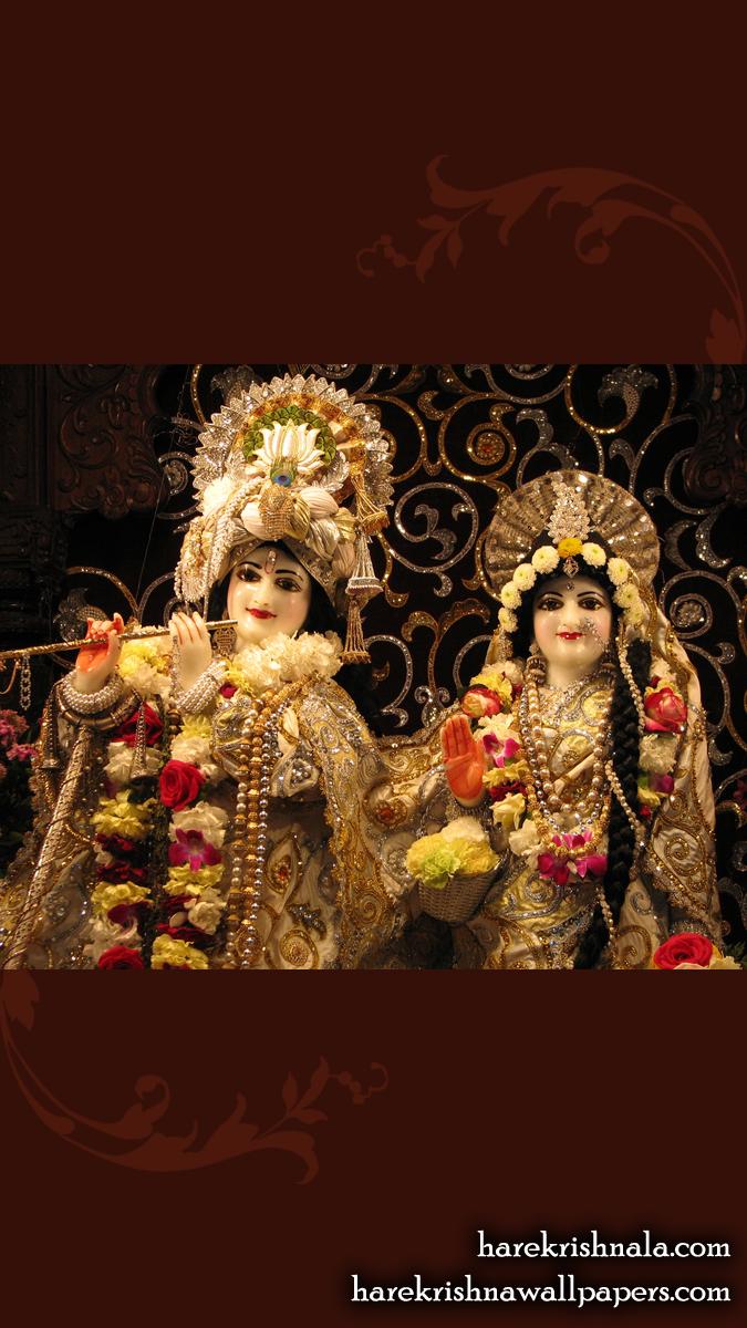 Sri Sri Rukmini Dwarkadhish Close up Wallpaper (006) Size 675x1200 Download