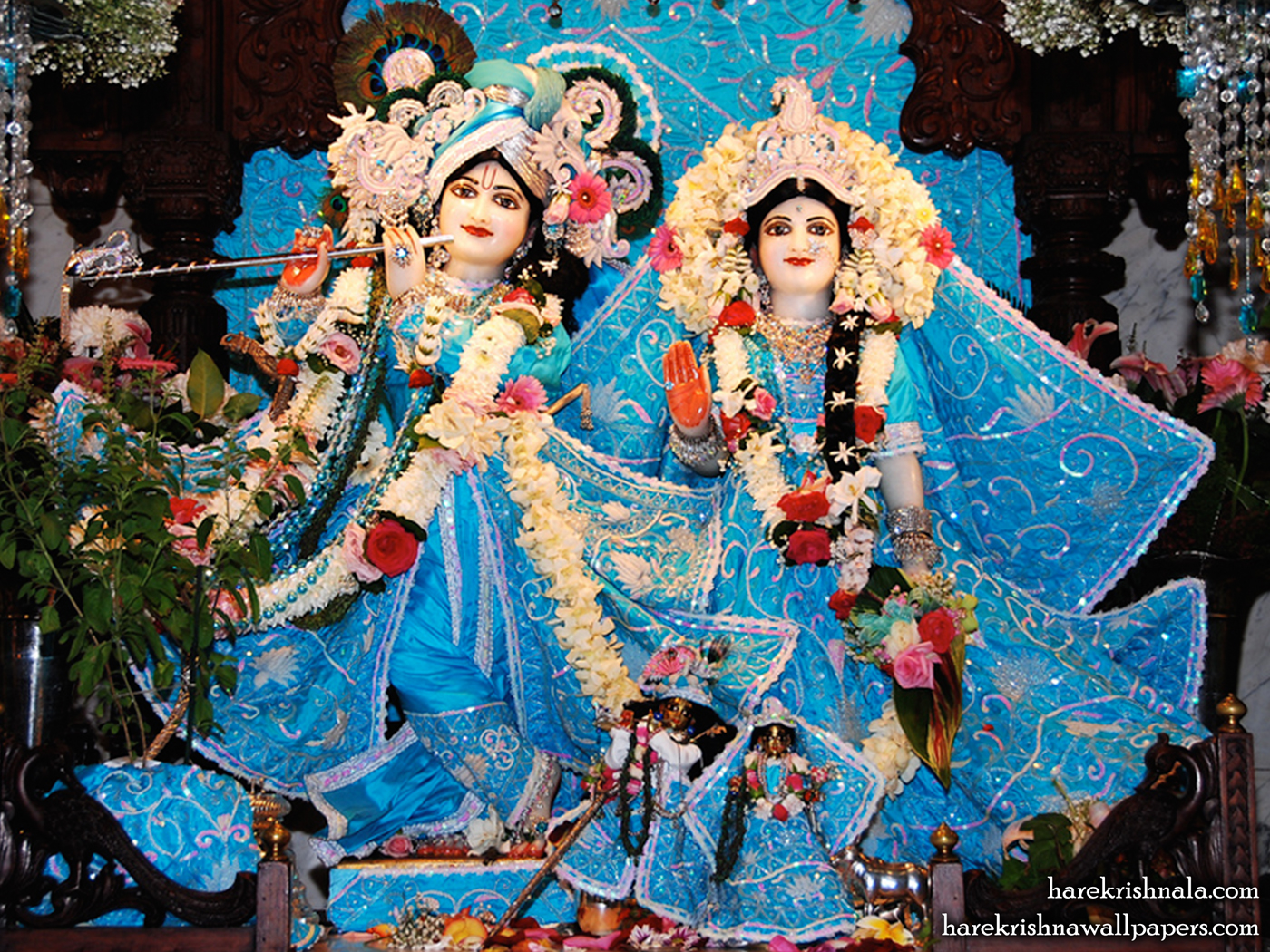 Sri Sri Rukmini Dwarkadhish Wallpaper (007) Size 1400x1050 Download