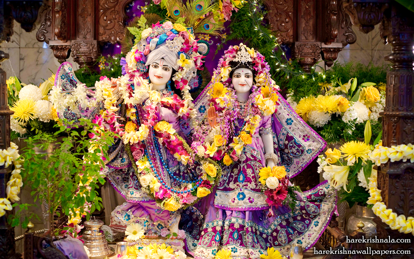 Sri Sri Rukmini Dwarkadhish Wallpaper (009) Size 1440x900 Download