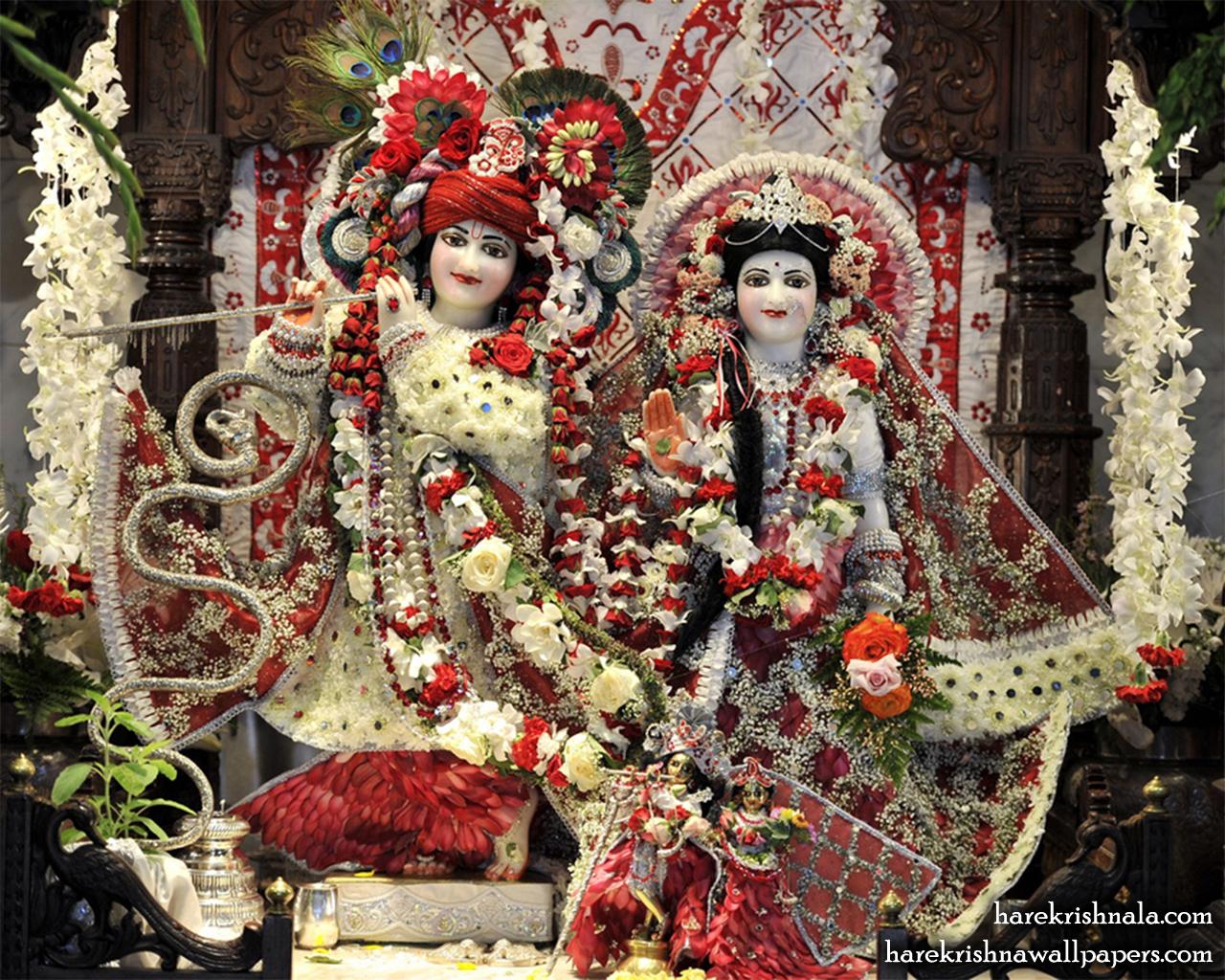 Sri Sri Rukmini Dwarkadhish Wallpaper (010) Size 1280x1024 Download