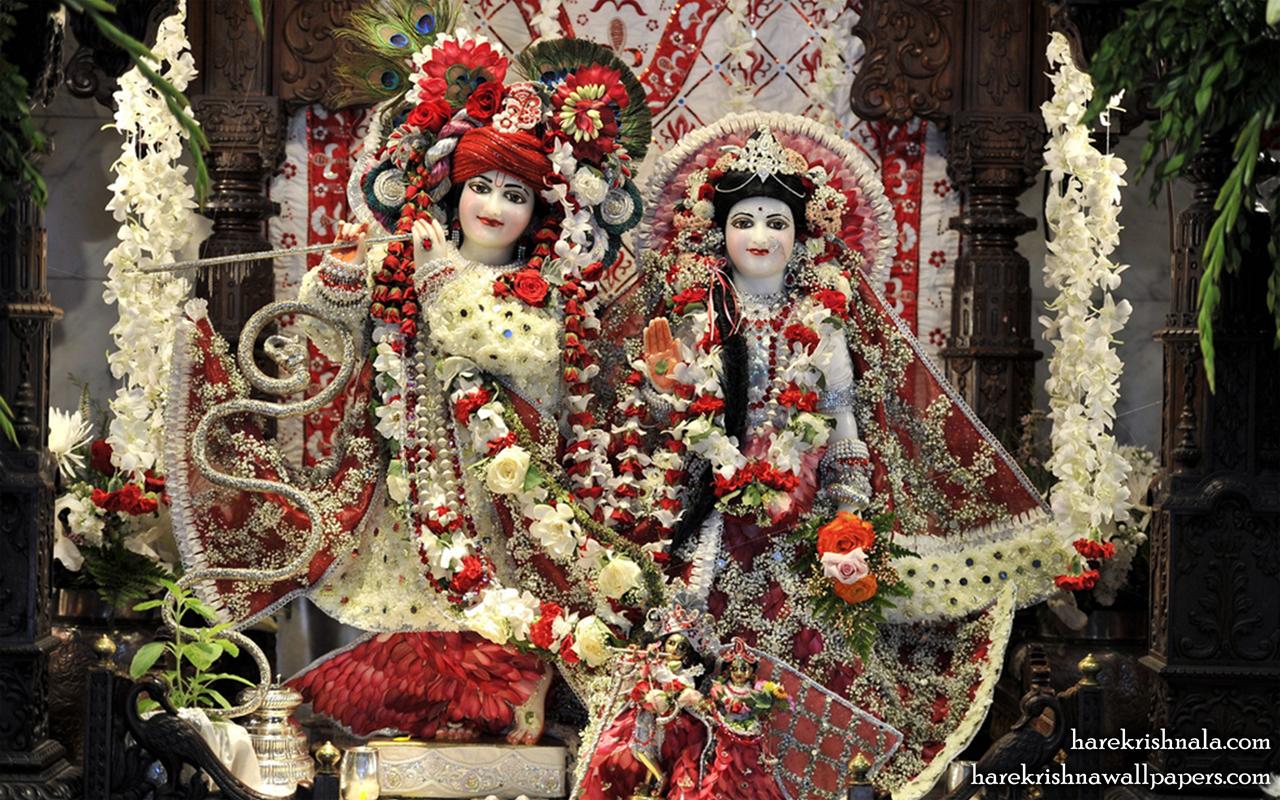 Sri Sri Rukmini Dwarkadhish Wallpaper (010) Size 1280x800 Download