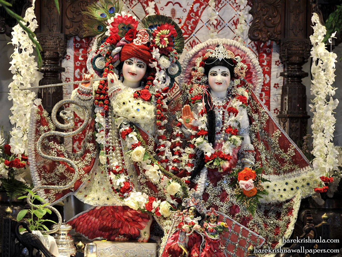 Sri Sri Rukmini Dwarkadhish Wallpaper (010) Size 1400x1050 Download