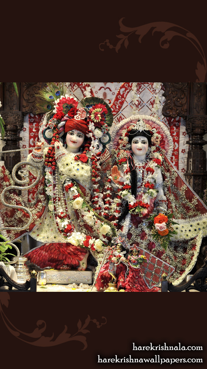 Sri Sri Rukmini Dwarkadhish Wallpaper (010) Size 675x1200 Download